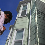 Anthony Reid west Oakland resident anger over tagging
