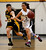 Archbishop Mitty High School's Vanessa Garner (3) dribbles against Wilcox High School's Shania Ratliff (23) in the fourth period for the CCS Open Division Girls Basketball semifinals at Oak Grove High School in San Jose, Calif., on Wednesday, Feb. 27, 2013.  Archbishop Mitty High School won 52-37.  (Nhat V. Meyer/Staff)