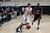 Archbishop Mitty's Aaron Gordon (32) dribbles the ball against Modesto Christian Anthony Townes (33) in the fourth quarter of NorCal Boys Open Division semi-finals Varsity Boy's Basketball game at Archbishop Mitty High School in San Jose,  Calif., on Tuesday, March 12, 2013.  (Josie Lepe/Staff)