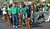 Irish setters and their owners from the NorCal Irish Setter Rescue walk down Dublin Boulevard during the Saint Patrick's Day Parade in Dublin, Calif., on Saturday, March 16, 2013. (Dan Rosenstrauch/Staff)