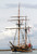The Hawaiian Chieftain, a replica of an 18th century tall ship, sails into the Port of Redwood City on Thursday, March 7, 2013. The Hawaiian Chieftain is one of two historical ships that will visit the port and be open for public tours, sailing excursions, and educational programs starting today, Friday, March 8, 2013. The Hawaiian Chieftain and the Lady Washington will be at the Redwood City port until March 19. For more information, visit http://www.redwoodcityport.com/.  (Kirstina Sangsahachart/ Daily News)