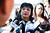 Mary Ayala, Anna Ayala's sister speaks to the media on Feb. 22, 2013 outside of the Santa Clara County Hall of Justice in San Jose. Anna Ayala, the woman behind the notorious 2005 hoax involving a segment of human finger placed in a bowl of fast-food chili, was arrested Thursday on charges of being an accessory to a felony and filing a false police report. Guadalupe 