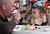Kelly Ouimet, left, licks frosting off the fingers of his son Matthew, 2, as they celebrate Matthew's birthday with family and friends at their home in Antioch, Calif., on Sunday, Feb. 10, 2013. Matthew, who suffers from primary hyperoxaluria type 1, a rare liver disease, turned two on Feb. 11. He undergoes dialysis six times a week at the UCSF Medical Center in San Francisco, and is on the transplant list awaiting a liver and kidneys. (Jane Tyska/Staff)