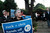 Barbara Slone protests in front of the house of Facebook CEO Mark Zuckerberg in Palo Alto on Wednesday, Feb. 13, 2013. About 40 protesters rallied in front of Zuckerberg's home as the co-founder of Facebook hosted a campaign fundraiser for New Jersey Republican Gov. Chris Christie. The protesters said they objected to Christie's visit because of his efforts to strip funding from Planned Parenthood and other women's reproductive health care programs. Protester and Palo Alto resident Cheryl Lilienstein said she wondered whether Zuckerberg had any idea what Planned Parenthood means for women's health or what Christie's stances are.
