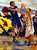 Los Altos High School's Nake Becker (11) looks to pass against Willow Glen High School's Cooper Wilson (25) in the first period for the CCS Division II Boys Basketball semifinals at Santa Clara High School in Santa Clara, Calif., on Tuesday, Feb. 26, 2013.  Willow Glen High School won 59-57.  (Nhat V. Meyer/Staff)