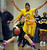 Miramonte High's Sabrina Ionescu (20) left, tries to get past Bishop O'Dowd High's Aisia Robertson (15) in the first period of their Division III North Coast Section basketball game in Dublin, Calif., on Saturday, March 2, 2013. Bishop O'Dowd High went on to win the game 77-48. (Doug Duran/Staff)