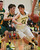 Pinewood's Nathan beak drives the ball to the hoop against Head-Royce's Joseph Chipman during a game in the first quarter at Pinewood High School in Los Altos on Wednesday, March 6, 2013.   (Kirstina Sangsahachart/ Daily News)