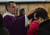 Father Roberto Corral puts ashes on the forehead of a woman during Ash Wednesday mass  at Holy Rosary Church in Antioch, Calif., on Wednesday Sept. 13, 2013. (Dan Rosenstrauch/Staff)