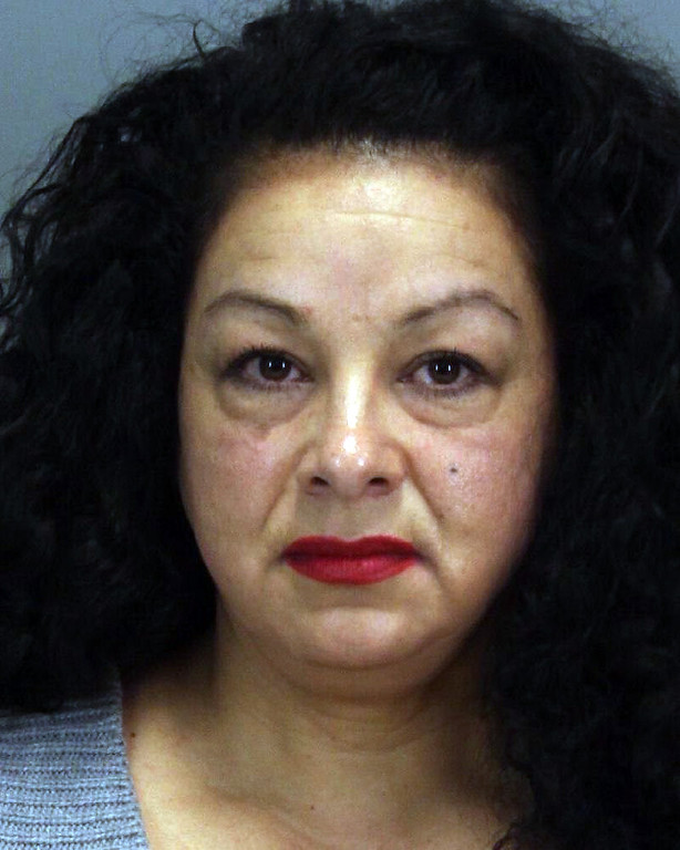 Description of . Anna Ayala, the mastermind behind the infamous Wendy's chili finger scam, is back in jail on charges she filed a false police report involving her son. (Santa Clara County Sheriff's Office)