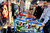 Consumers play at Stern Pinball booth at the 2013 International CES at the Las Vegas Convention Center on January 9, 2013 in Las Vegas, Nevada. (JOE KLAMAR/AFP/Getty Images)