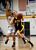 Wilcox High School's Caitlin Brown (1) dribbles against Archbishop Mitty High School's Emily Dinger (11) in the first period for the CCS Open Division Girls Basketball semifinals at Oak Grove High School in San Jose, Calif., on Wednesday, Feb. 27, 2013.  (Nhat V. Meyer/Staff)