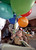 Matthew Ouimet, 2, plays with balloons as he celebrates his birthday with family and friends at his home in Antioch, Calif., on Sunday, Feb. 10, 2013. Matthew, who suffers from primary hyperoxaluria type 1, a rare liver disease, turned two on Feb. 11. He undergoes dialysis six times a week at the UCSF Medical Center in San Francisco, and is on the transplant list awaiting a liver and kidneys. (Jane Tyska/Staff)
