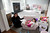 Winnie Cheng, and her daughter Sabrina Hew in the family room of their home in Los Altos, Calif. on Wednesday, March 6, 2013.  The home was remodeled with the help of the app and online site, Houzz.  (LiPo Ching/Staff)