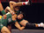 De La Salle's Nathan Cervantes, front, wrestles Tracy's Albert Landeros in a 158-pound second round match during the California Interscholastic Federation wrestling championships in Bakersfield, Calif., on Friday, March 1, 2013. Cervantes would go on to win. (Anda Chu/Staff)