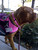 Tympani is a is a 15-month-old Dogue de Bordeaux  (French Mastiff) who volunteers at the San Jose International Airport with Mechele Oliveira.