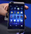 The BlackBerry 10 mobile platform is seen after being unveiled January 30, 2013 at the New York City Launch at Pier 36. (TIMOTHY A. CLARY/AFP/Getty Images)
