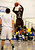 St. Francis High School's Khalid Johnson (3) takes and makes a three-point shot against Leigh High School's near the end of the second period for the CCS Division II Boys Basketball semifinals at Santa Clara High School in Santa Clara, Calif., on Tuesday, Feb. 26, 2013.  (Nhat V. Meyer/Staff)