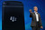 BlackBerry Chief Executive Officer Thorsten Heins displays one of the new Blackberry smartphones at the BlackBerry 10 launch event by Research in Motion at Pier 36 in Manhattan on January 30, 2013 in New York City. The new smartphone and mobile operating system is being launched simultaneously in six cities.  (Photo by Mario Tama/Getty Images)
