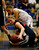 Lynbrook High School's Sara Dyslin (22) fights for the ball against St. Francis High School's Lauren Johnson (22) in the third period for the CCS Open Division Girls Basketball semifinals at Oak Grove High School in San Jose, Calif., on Wednesday, Feb. 27, 2013.  St. Francis High School won 37-27.  (Nhat V. Meyer/Staff)