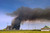 What was described as a vegetation fire is visible from Pittsburg, Calif., as well as other parts of the Bay Area on Sunday, March 17, 2013. The fire reportedly was burning near Sherman Island in the Delta according to Cal Fire. (Cindi Christie/Staff)