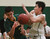Pinewood's Robin Sanders, right, fights for a rebound aginst Head-Royce's Samuel Greenwall during a game in the first quarter  at Pinewood High School in Los Altos on Wednesday, March 6, 2013.   (Kirstina Sangsahachart/ Daily News)