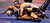 Gilroy's Paul Fox, top, wrestles Buena's Steven Menedez in a 132-pound third round match during the California Interscholastic Federation wrestling championships in Bakersfield, Calif., on Friday, March 1, 2013. (Anda Chu/Staff)