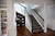 The staircase in David Hew's home, was remodeled with the help of the app and online site, Houzz, in Los Altos, Calif. on Wednesday, March 6, 2013.  (LiPo Ching/Staff)