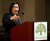 Oakland Mayor Jean Quan makes a point during her State of the City address, Wednesday, Feb. 27, 2013 at City Hall in Oakland, Calif. (D. Ross Cameron/Staff)