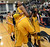 Bishop O'Dowd High's K.C. Waters (44) picks up teammate  Oderah Chidom (22) after winning their Division III North Coast Section basketball game 77-48 against Miramonte High in Dublin, Calif., on Saturday, March 2, 2013. (Doug Duran/Staff)