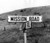 August 16, 1955 - Street sign in front of the Mission, now known as Mission Boulevard. (Robert Stinnett / Oakland Tribune Staff Archives)
