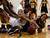 Archbishop Mitty High School's Kelli Hayes (21) fights for a loose ball against Wilcox High School's D'Airrien Jackson (25) in the second period for the CCS Open Division Girls Basketball semifinals at Oak Grove High School in San Jose, Calif., on Wednesday, Feb. 27, 2013.  (Nhat V. Meyer/Staff)