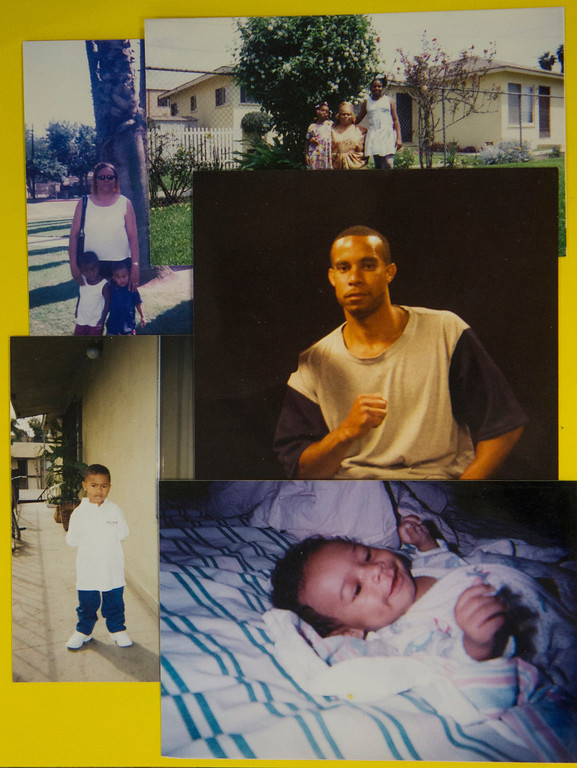 """. Family photos of Antoine Brown His son, Romeo, is pictured at bottom, bottom left, and upper left (wearing a blue shirt). Brown says his son inspires him to focus on rehabilitation and earn parole. \""""I plan on getting out there,\"""" Brown says, \""""and being a responsible individual for him.\"""" (Photos submitted by Antoine Brown)"""