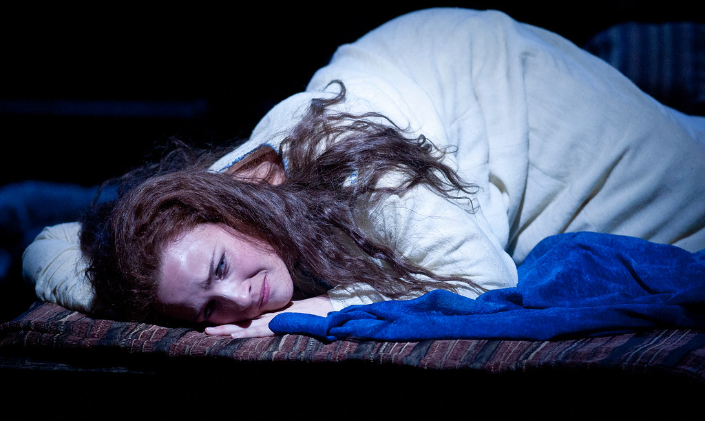 """. Sasha Cooke portrays the title character in San Francisco Opera\'s world premiere of Mark Adamo\'s \""""The Gospel of Mary Magdalene,\"""" Sunday, June 16, 2013 at the War Memorial Opera House in San Francisco. (D. Ross Cameron/Bay Area News Group)"""