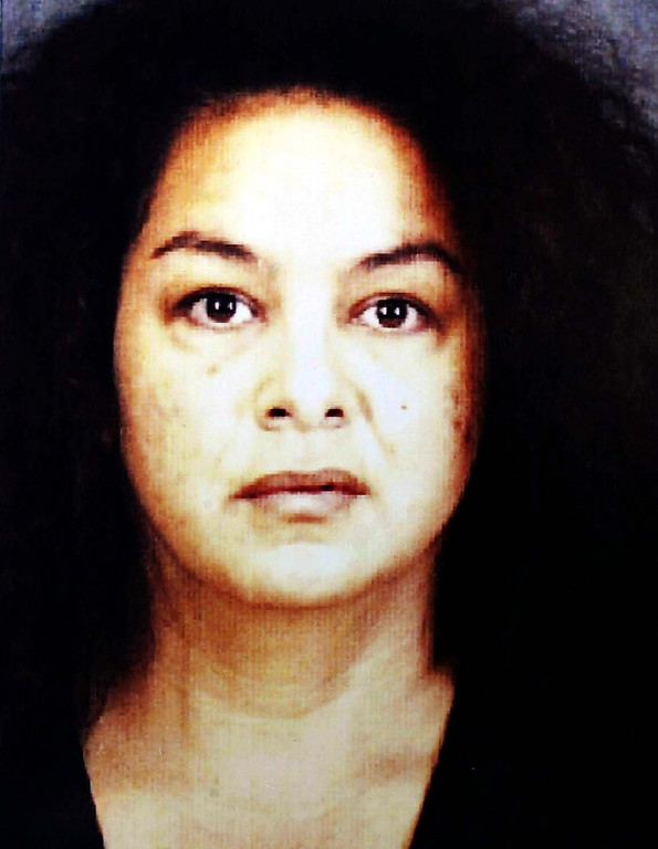 . Anna Ayala, who claims to have found a human finger in a cup of Wendy\'s chili was charged with two felony counts, one involving the Wendy\'s finger case. Ayala was extradited from Las Vegas to San Jose Friday, May 6, 2005 and is expected to be arraigned next week. (Santa Clara County Sheriff\'s Office)