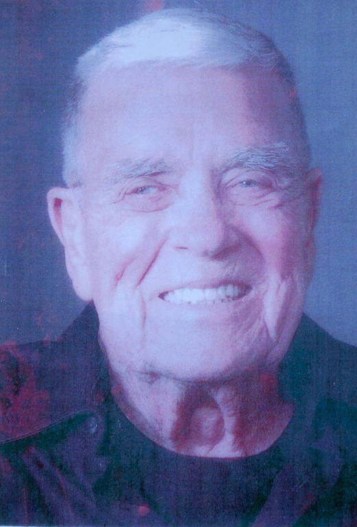 . Arvy Geurin of Santa Cruz, who landed on the beaches of Iwo Jima while serving in the Navy, died at age 87 and is buried in Santa Cruz Memorial. (Courtesy of Gale Geurin)
