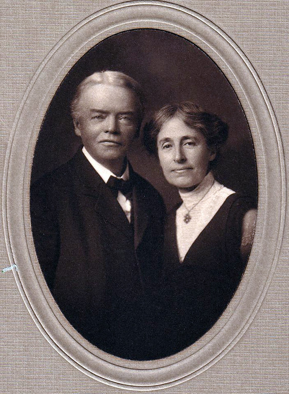 . Harvard professor and philosopher Josiah Royce � for whom the Royce School was named � with his wife Katharine, Anna Head�s sister.  (Head Royce School Archives)