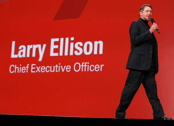 Photos: Oracle's Larry Ellison steps aside as CEO