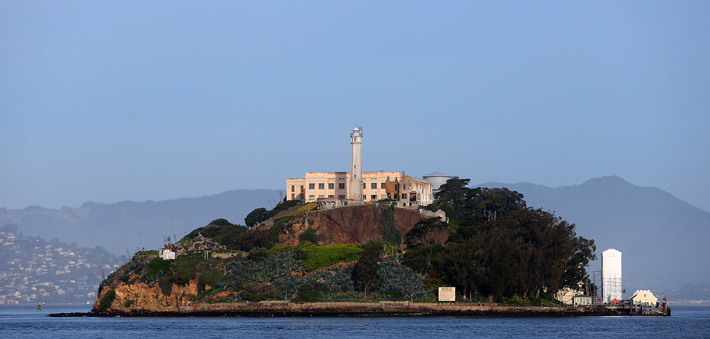 . Alcatraz Island is photographed on Monday, March 18, 2013 in San Francisco, Calif.   The federal prison on the island closed 50 years ago and is now a tourist destination.  (Aric Crabb/Staff)