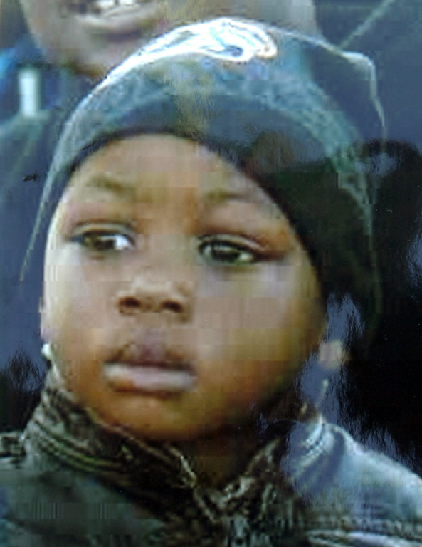 . Hiram Lawrence Jr., killed in West Oakland on Nov. 28, 2011, a month before his 2nd birthday. The boy was leaving a liquor store with his father, Hiram Lawrence, at about 6 p.m. when three men turned a corner and fired into a crowd in the parking lot. A bullet struck the baby boy, leaving him a coma for 11 days before his family took him off life support.   (Family photo)