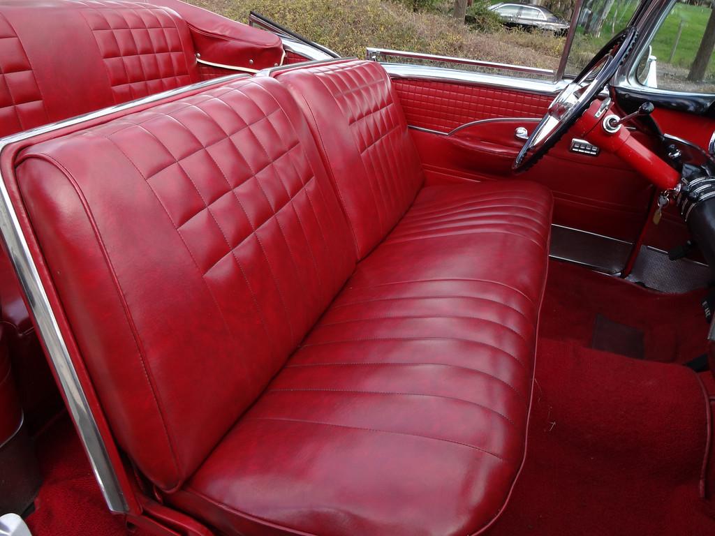 . Interior of John Odne\'s 1954 Buick Skylark   (Photo by David Krumboltz)