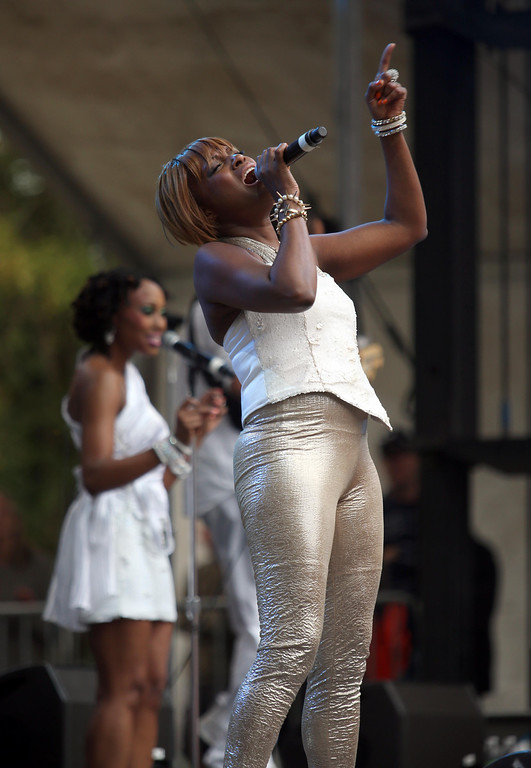 . Chic performs on the Sutro stage during the 6th annual Outside Lands Music and Arts Festival in Golden Gate Park in San Francisco, Calif., on Friday, Aug. 9, 2013.  (Jane Tyska/Bay Area News Group)