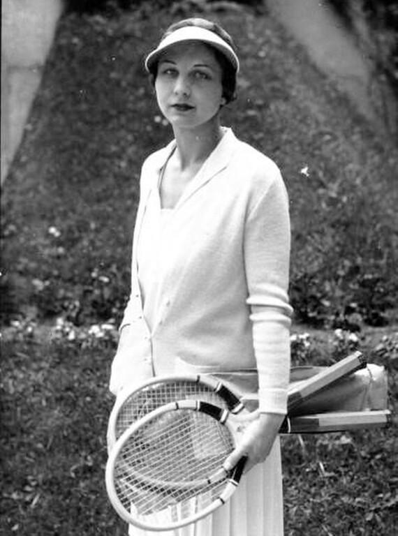 . Anna Head School alumna Helen Wills Moody won 31 Grand Slam tennis titles from 1923 through 1938. (Head Royce School Archives)