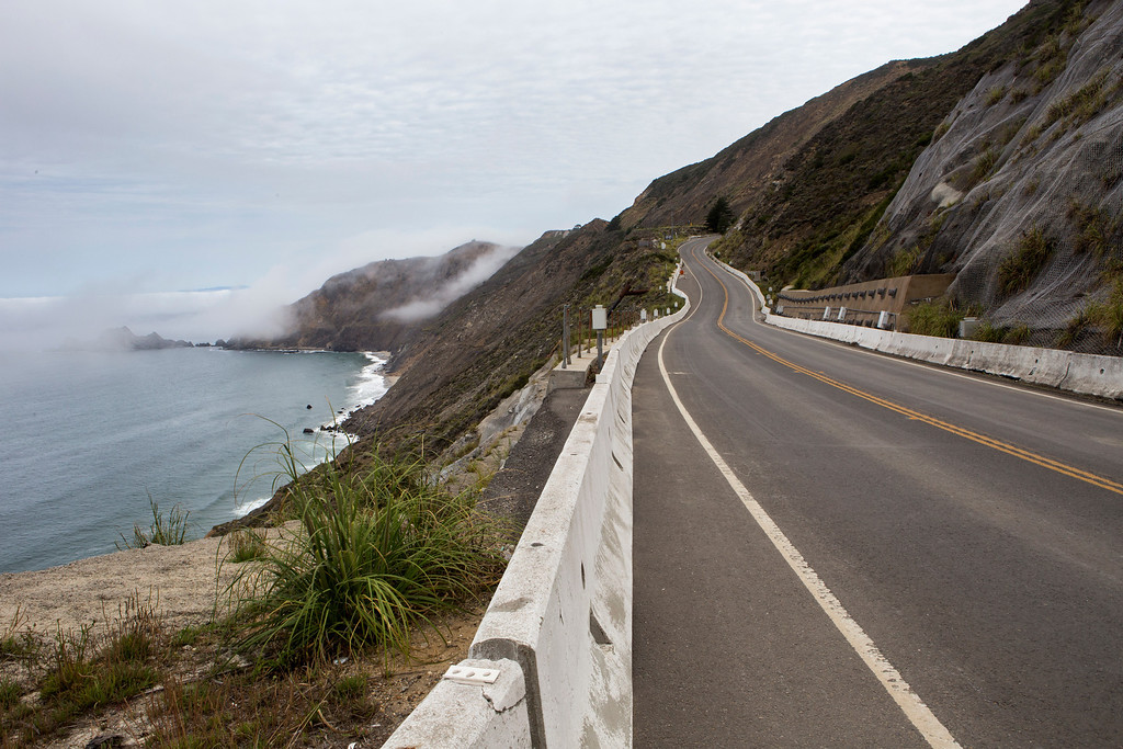 . The San Mateo County Parks Department will hold a public meeting to present conceptual plans for the closed portion of Highway 1 that will be turned into a public multi-use non-motorized trail, featuring dramatic views of the San Mateo County coast. (John Green/Bay Area News Group)