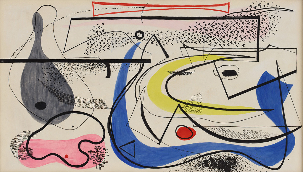 """. \""""To Hofmann With Love From Buddha, \"""" c. 1941. Copyright 2013 Eames Office, LLC (eamesoffice.com)"""