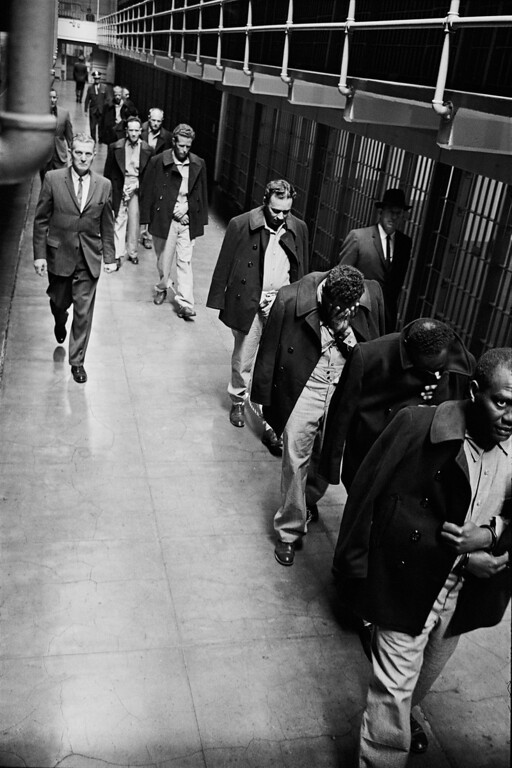 . Alcatraz Prison, March 21, 1963, the day it was closed.  (Photo by Leigh Wiener, courtesy of the National Park Service)